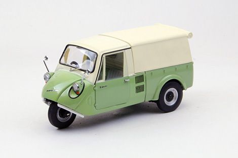 The Mazda K360 Three Wheeled Light Truck First Went On Sale In 1959