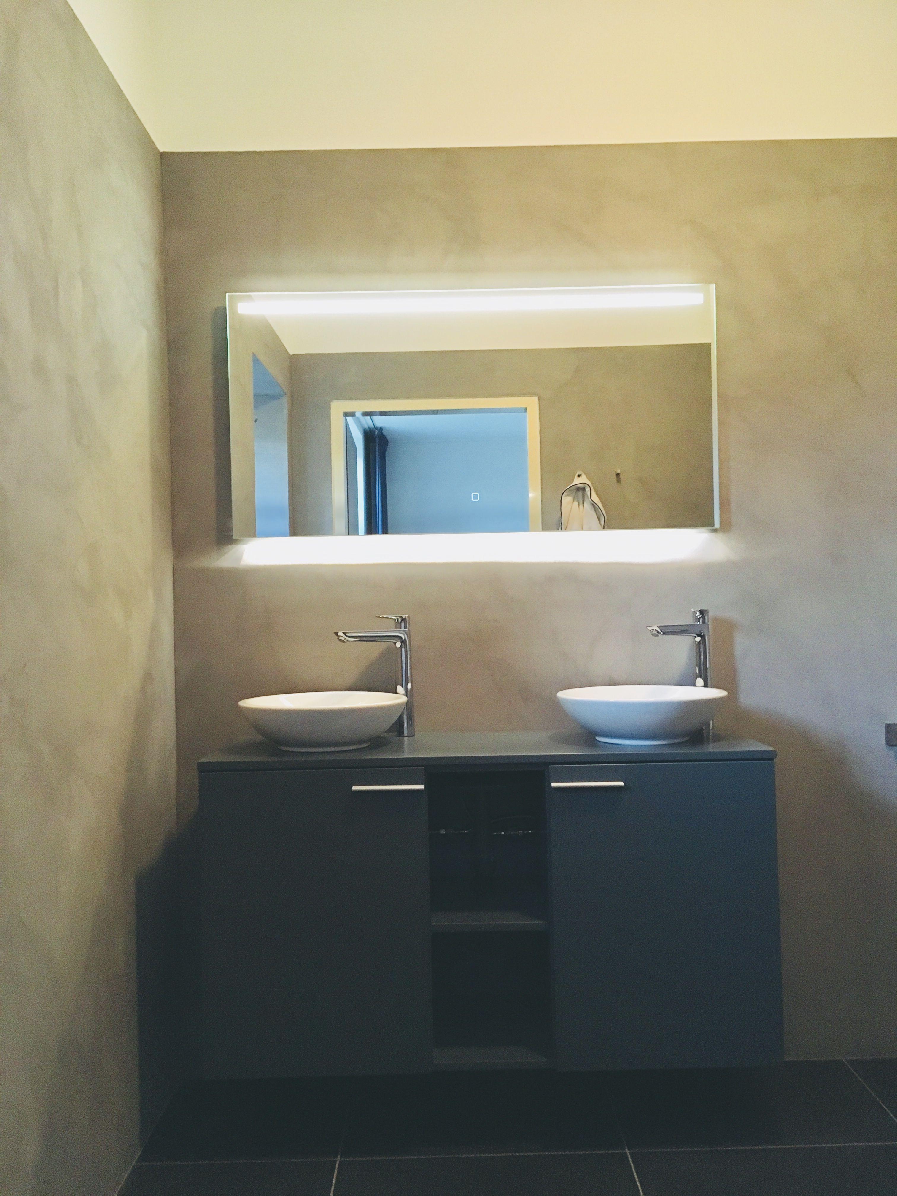 Badkamer, betonstuc | Vier Interieur | Pinterest