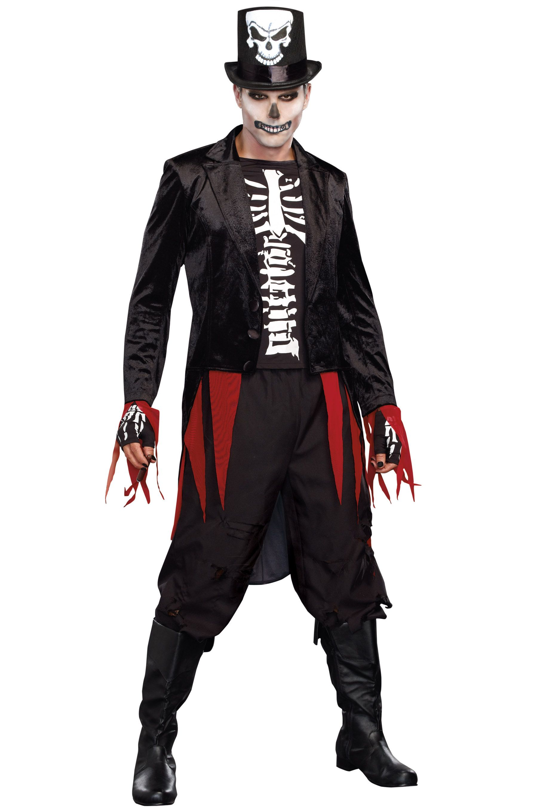 Shop skeleton costumes like this Mr. Bones Costume at Lingerie ...