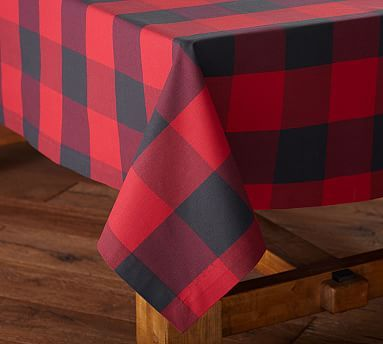 Charmant Buffalo Check Tablecloth #potterybarn. Holiday DinnerwareDinnerware  SetsBuffalo PlaidTable ...