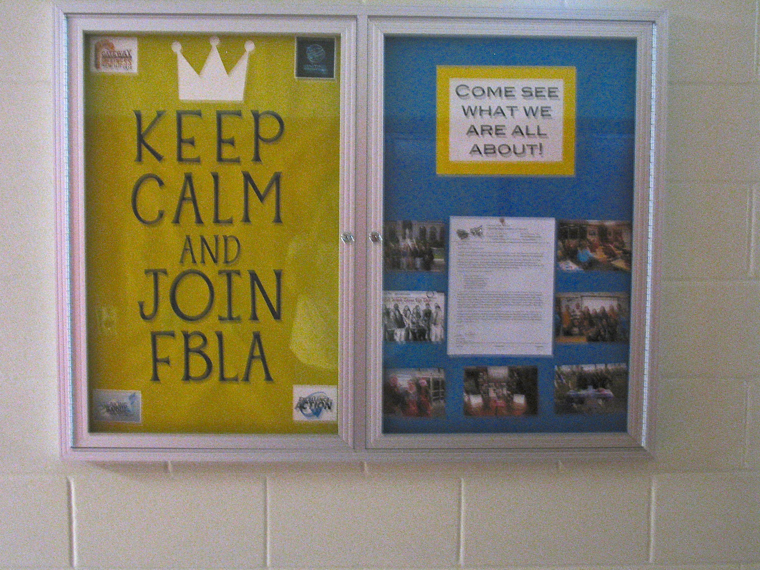 Bulletin board-recruitment | FBLA | Pinterest | Bulletin board ...