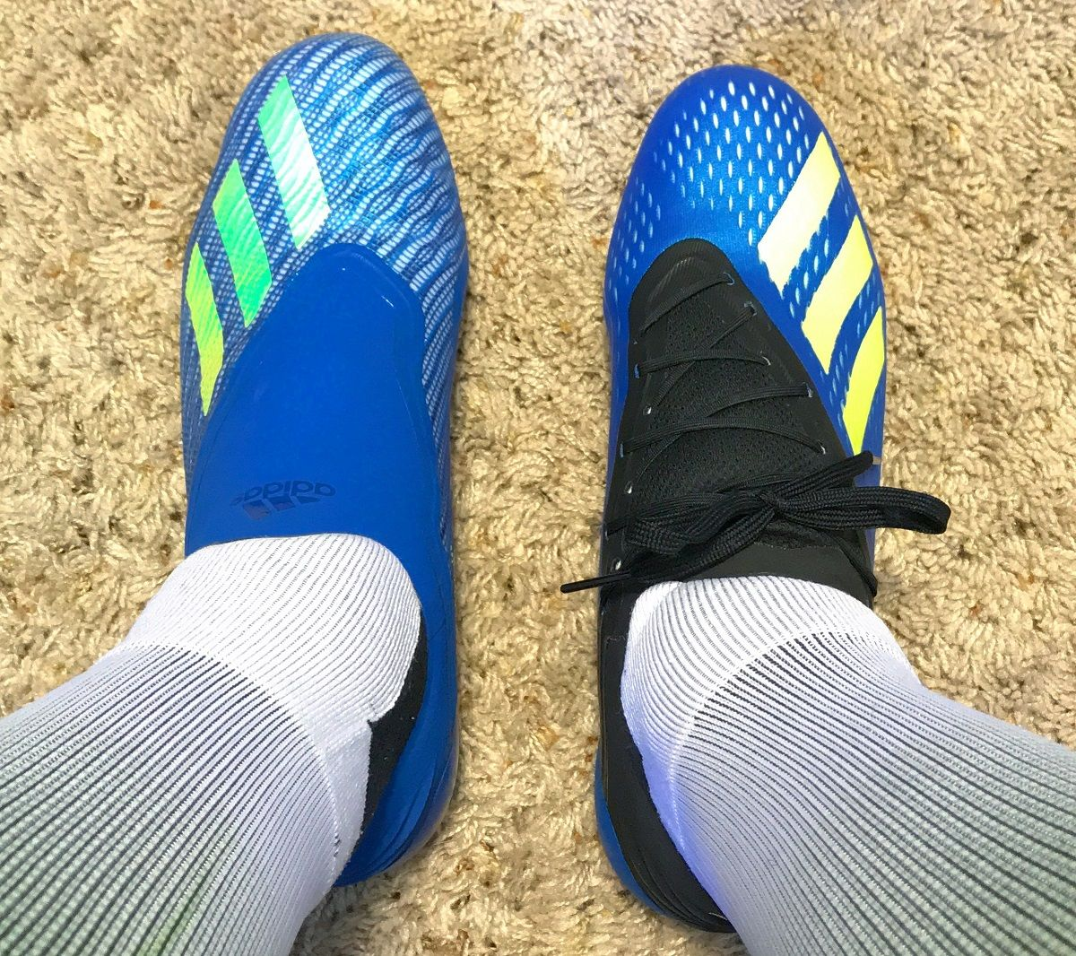 best sneakers d0735 b5ea2 Deciding Between the adidas X18+ and X18.1? Do you go ...