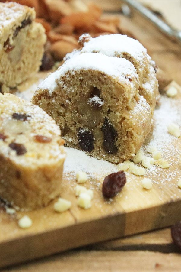 Photo of Healthy Christmas stollen – sugar-free and vegan