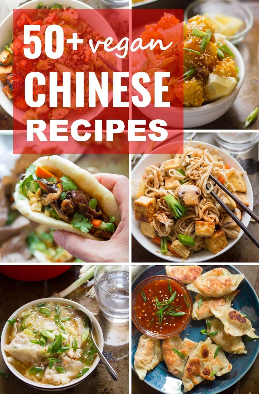 Skip The Takeout And Whip Up Your Favorite Chinese Dishes At Home This Collection Incl In 2020 Vegetarian Chinese Recipes Authentic Chinese Recipes Vegan Chinese Food