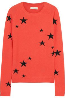 Chinti & Parker All Over Sterne Cashmere Damen Pullover
