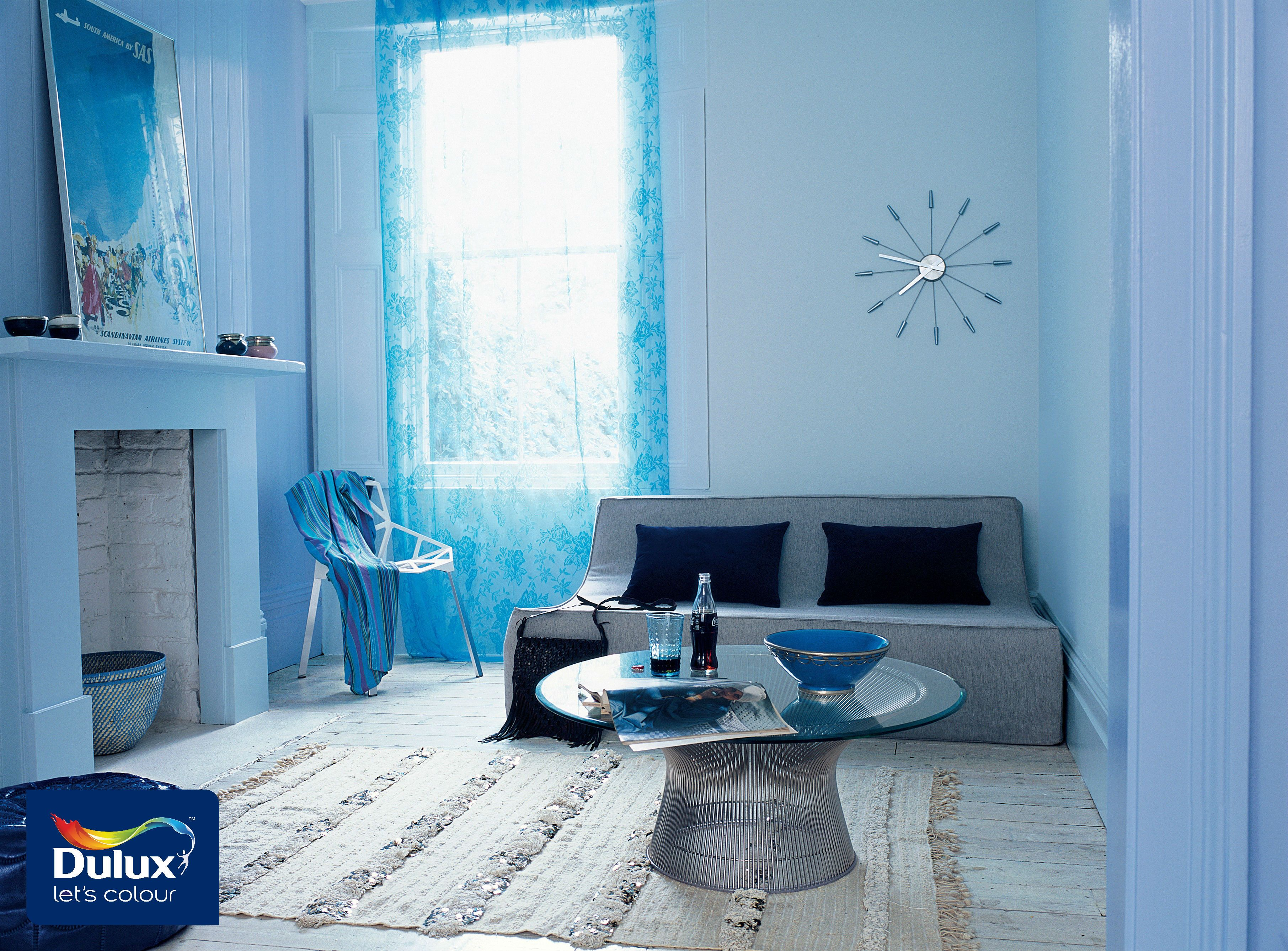 Here S A Living Room That Will Lighten Up Your Day Use Dulux All