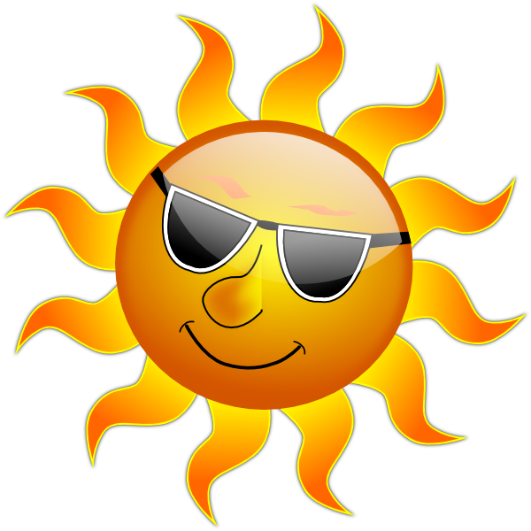 Style Guide Clker Sun Clip Art Clip Art Free Clip Art