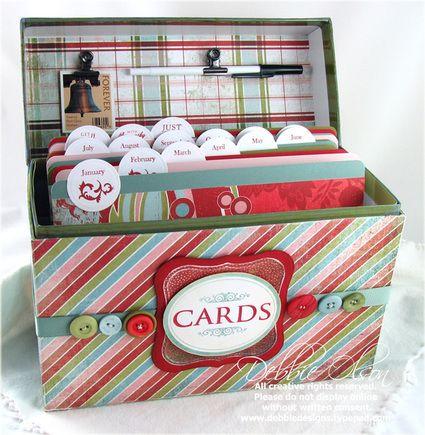 Birthday Organization Challenge Greeting Card Storage Greeting Card Organizer Birthday Organizer