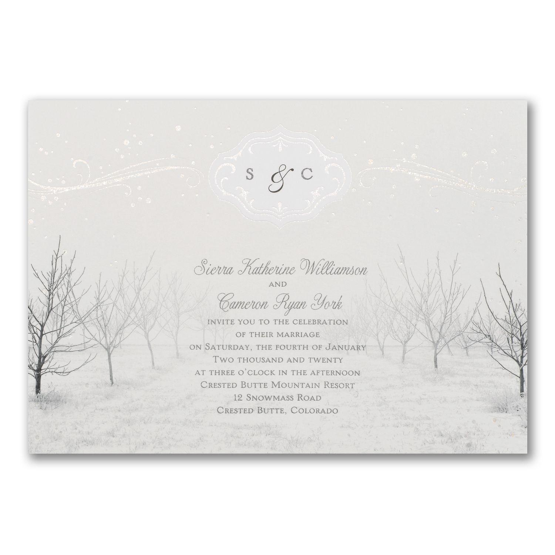 Winter wonderland invitation wedding pinterest winter