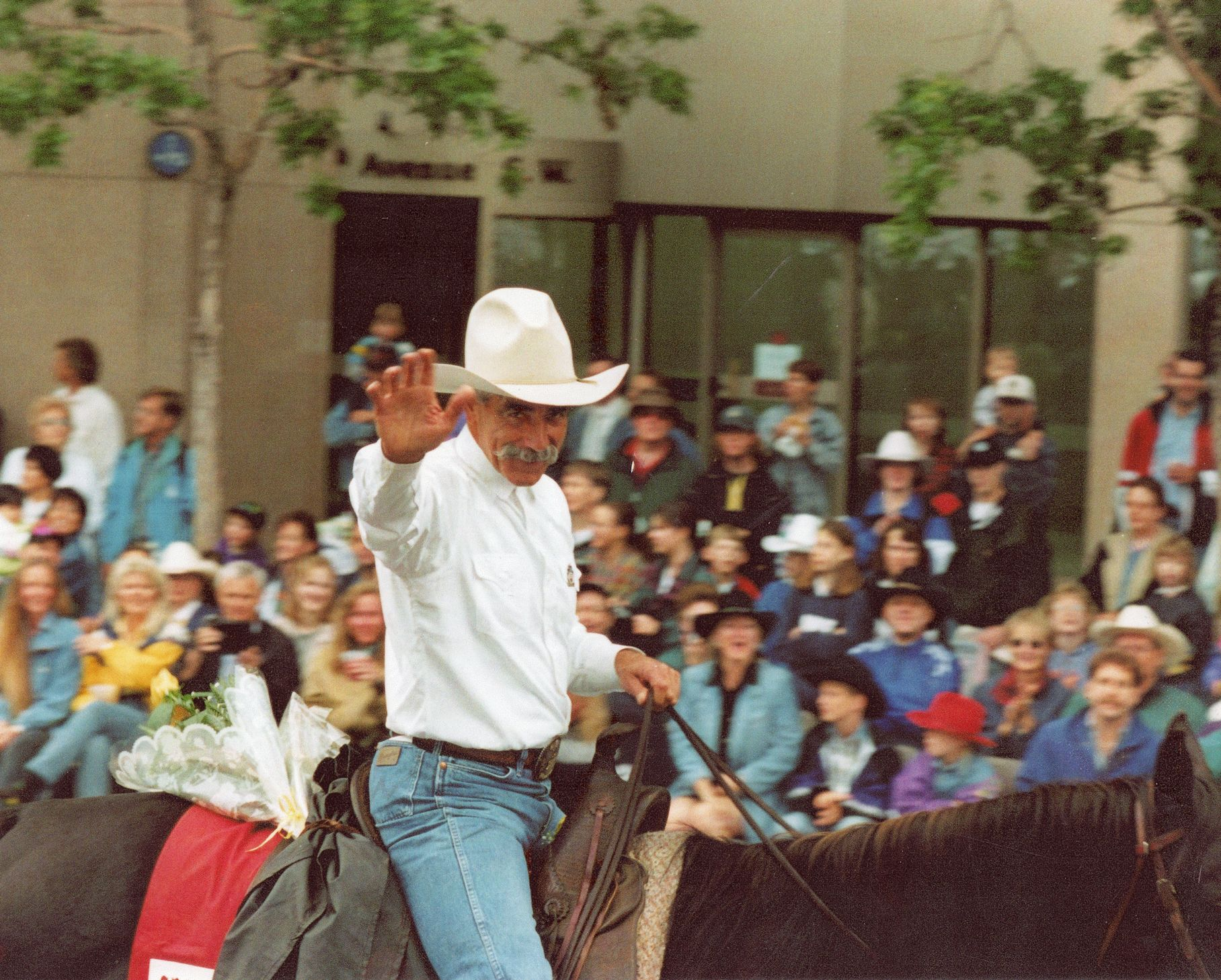 Actor Sam Elliot When He Served As Grand Marshall Of The