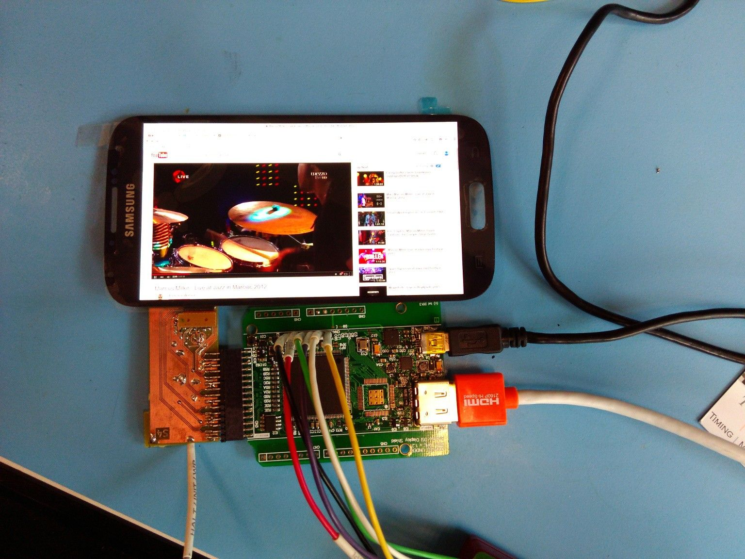 A simple controller for MIPI DSI displays, based on a Xilinx