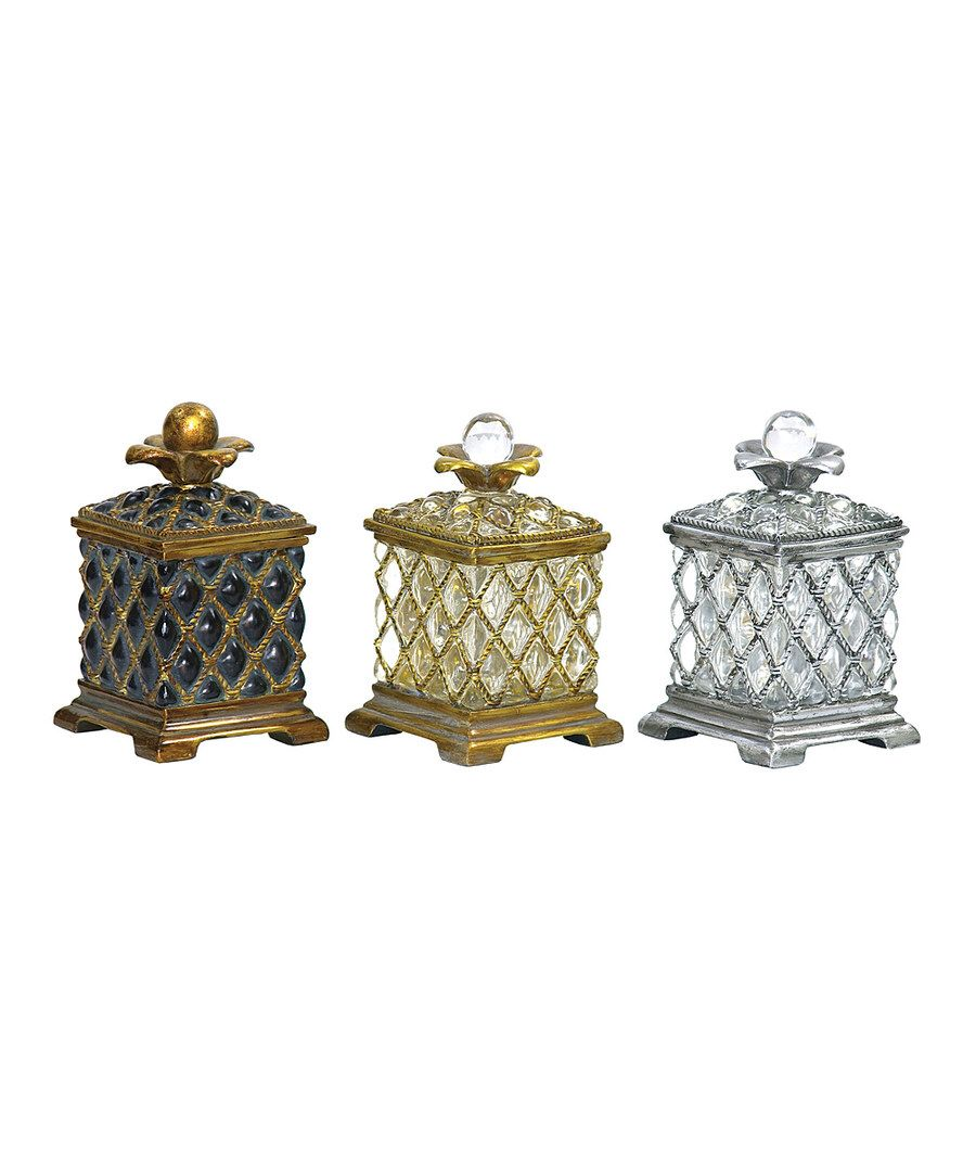 Look at this Sterling Assyrian Keepsake Box Set on #zulily today!