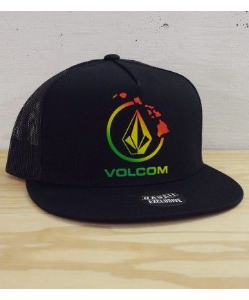 bbc0da1f0d2762 Men's Volcom Hawaii Mesh Trucker Hat - Nano Hawaii; Color Options: Black.  $19.50 Available online at www.islandsnow.com and at the Island Snow Hawaii  Kailua ...