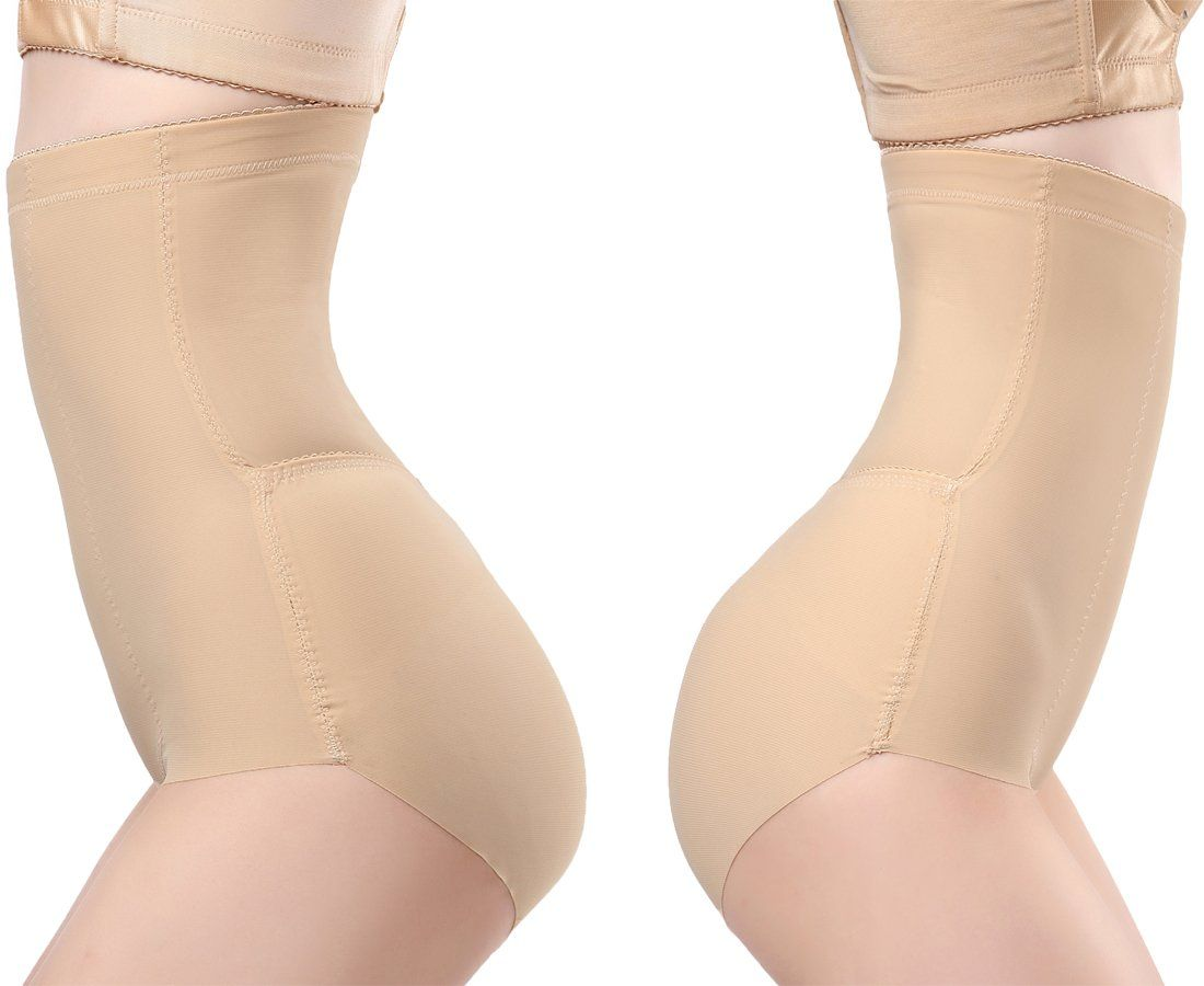 7a30e12d7208d Hioffer Womens Shapewear High Waist Tummy Control Bodysuit Body Shaper  Seamless Smooth Slimmer Panties Underwear     See this great product.