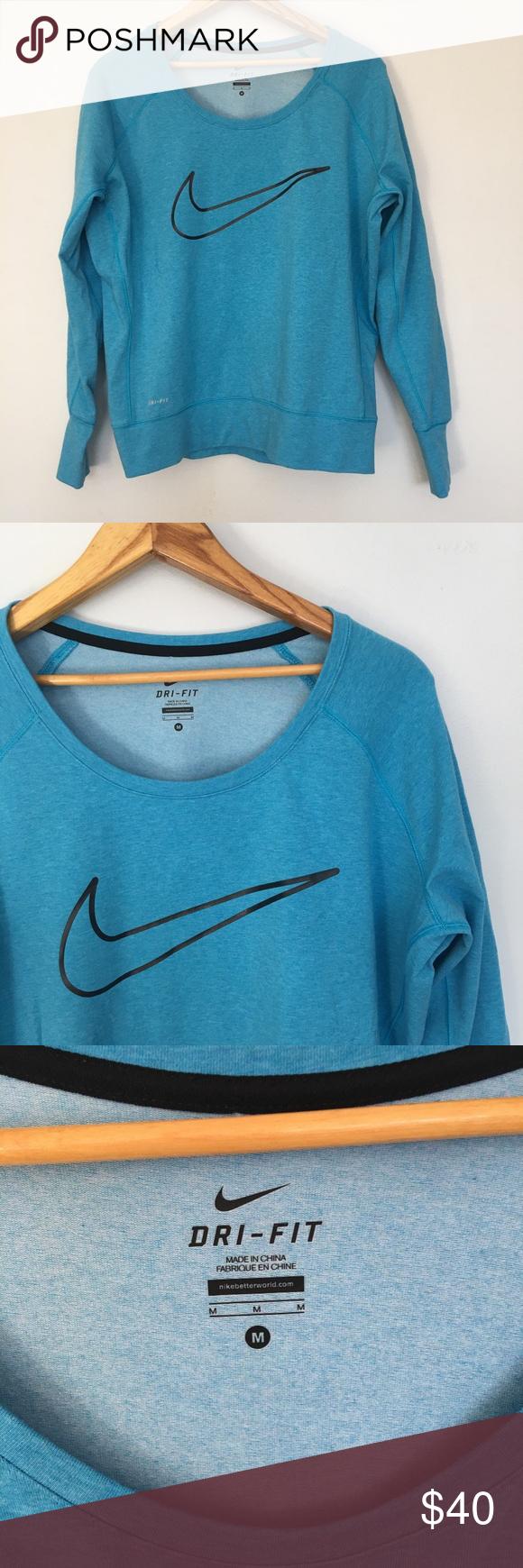 Nike Dri Fit Aqua Blue Nike Sweatshirt Nike Sweatshirts Blue Nike Sweatshirts [ 1740 x 580 Pixel ]