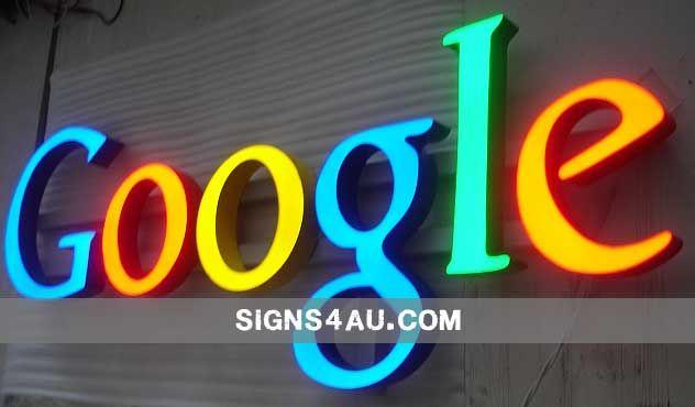 Case Analysis Illuminated Signs for Google signage Pinterest - case analysis