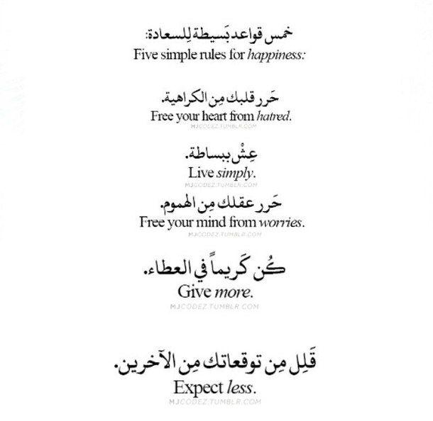 Arabe Arabique Donner Haine Vie Habiter Amour Esprit Texte Photo De Couverture Citation Mots D Amour Citation