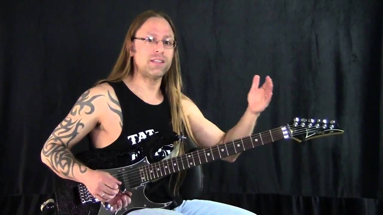 steve stine learn an awesome randy rhoads solo trick guitar lessons in 2019 guitar lessons. Black Bedroom Furniture Sets. Home Design Ideas