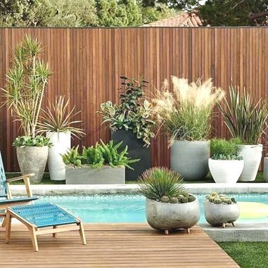 Photo of Cityscape Indoor/Outdoor Planters – Triple