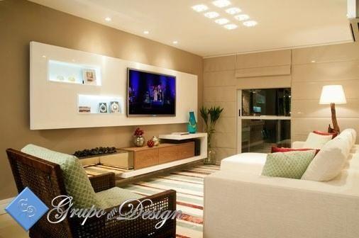Decoracao Em Gesso Para Sala De Tv ~ de gesso para tv  Pesquisa Google  Idéias para decoração de