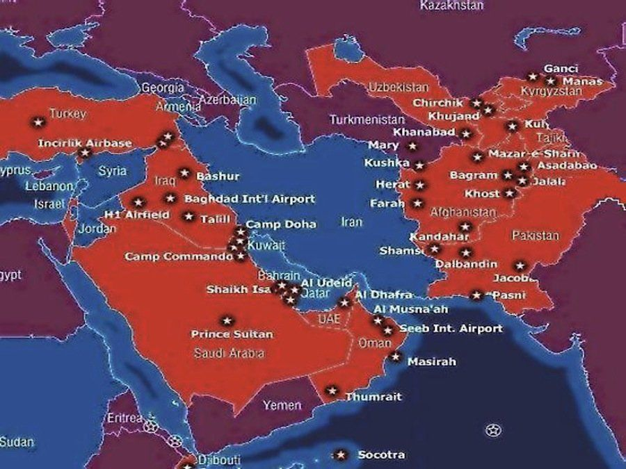 The 15 Maps That Explain The Entire World Middle East Military - Us Millitary Instilation Maps