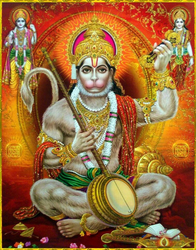 Pin by Haryram Suppiah on Monkey god Lord hanuman