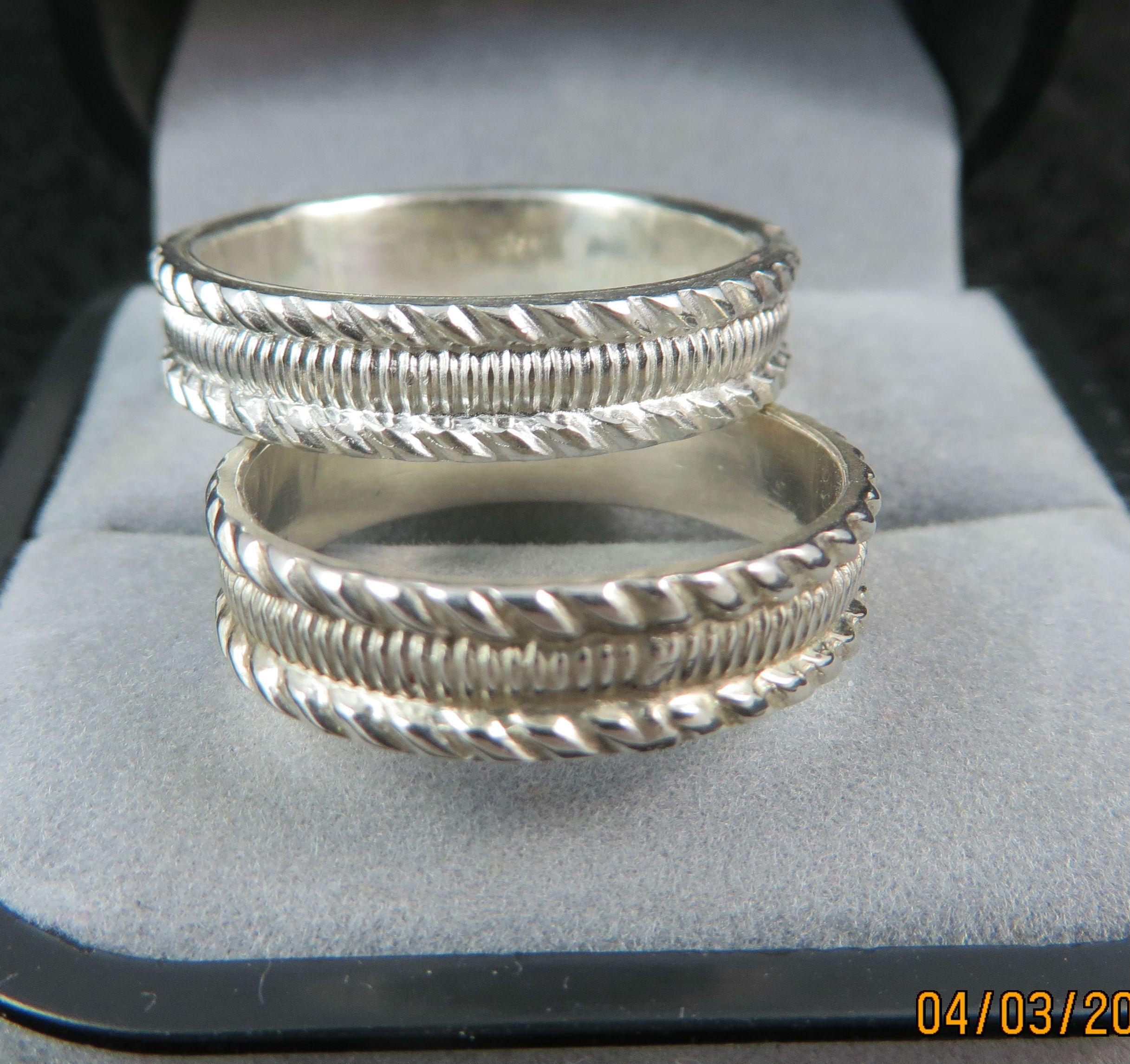 Pin By Kenya Weddings On Silver Wedding Rings