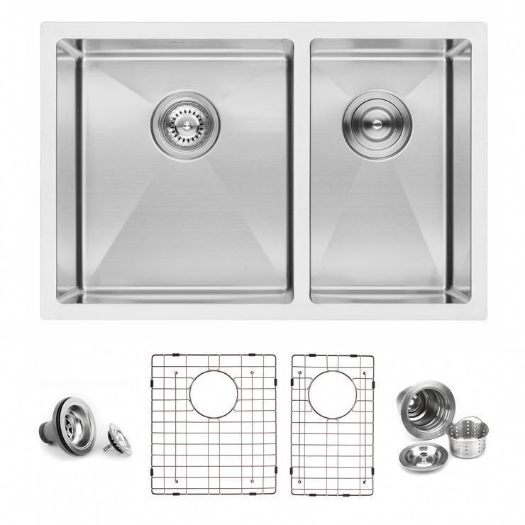 Bai 1227 Stainless Steel 16 Gauge Kitchen Sink Handmade 27 Inch