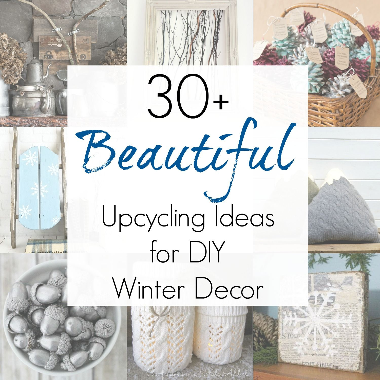 Winter Decor Ideas And Non Christmas Winter Decorations Winter Decorations Diy Winter Home Decor Winter Decor