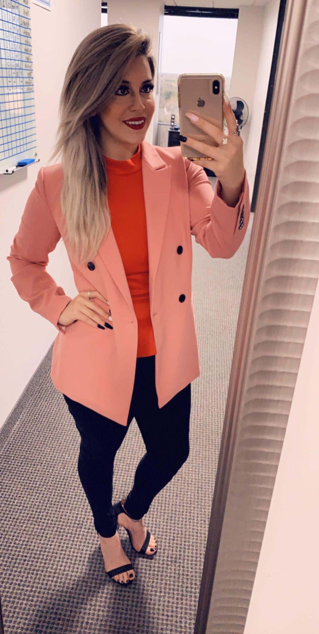 Wednesdays are for wearing pink! Women's blazer, Wear