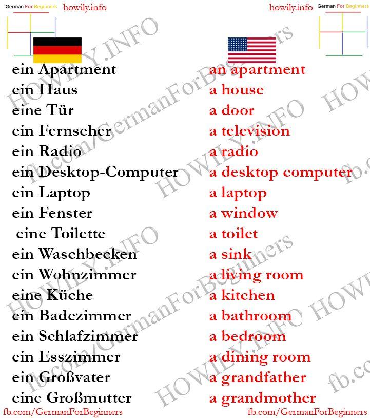 German For Beginners German Language Learning German Language German Phrases