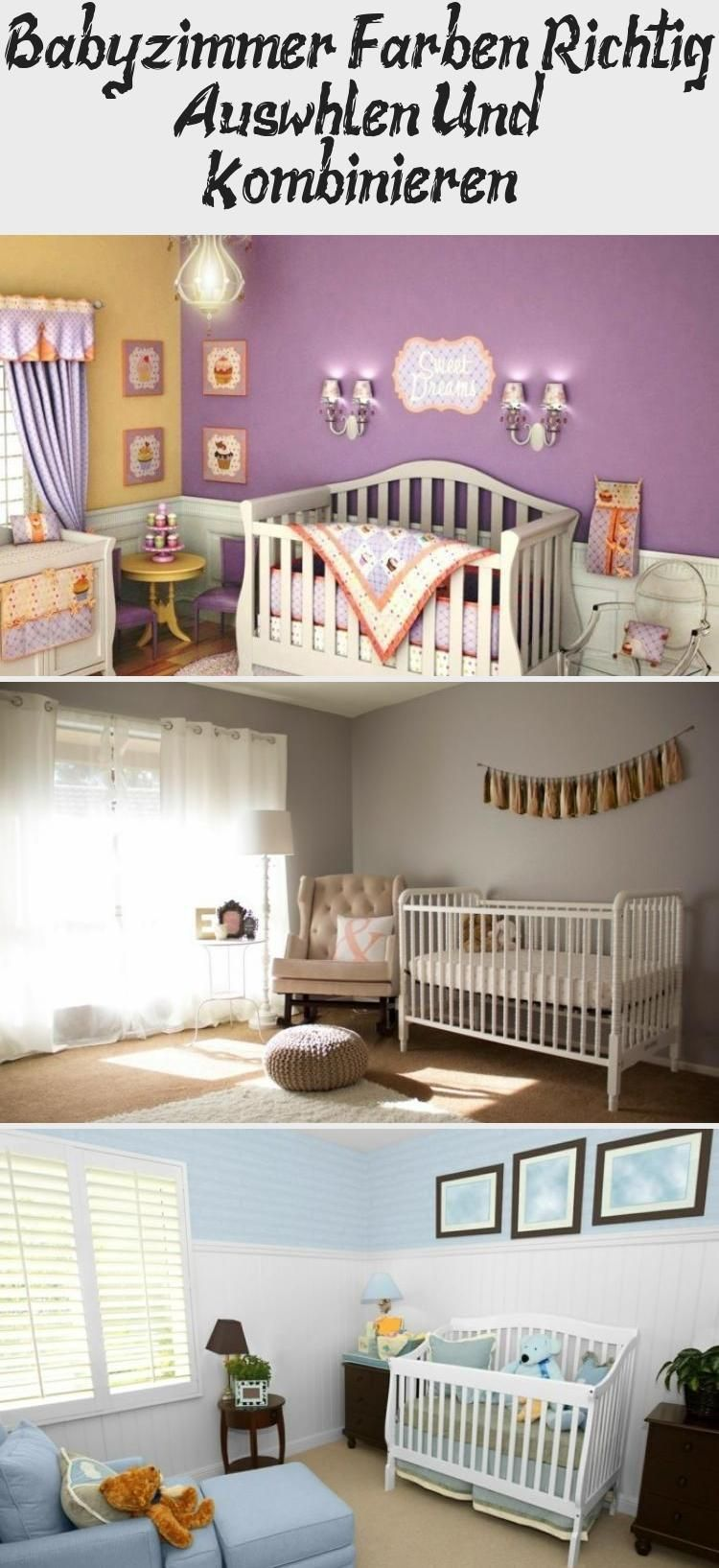 Choose And Combine Colors Correctly In The Nursery Armchair