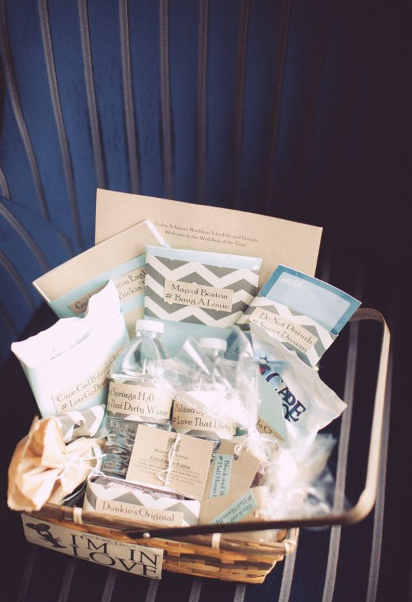 Cape Cod Wedding Ideas Part - 30: Cape Cod Wedding Welcome Bag Ideas