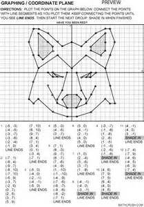 graphing worksheets coordinate graphing activities coordinate ...