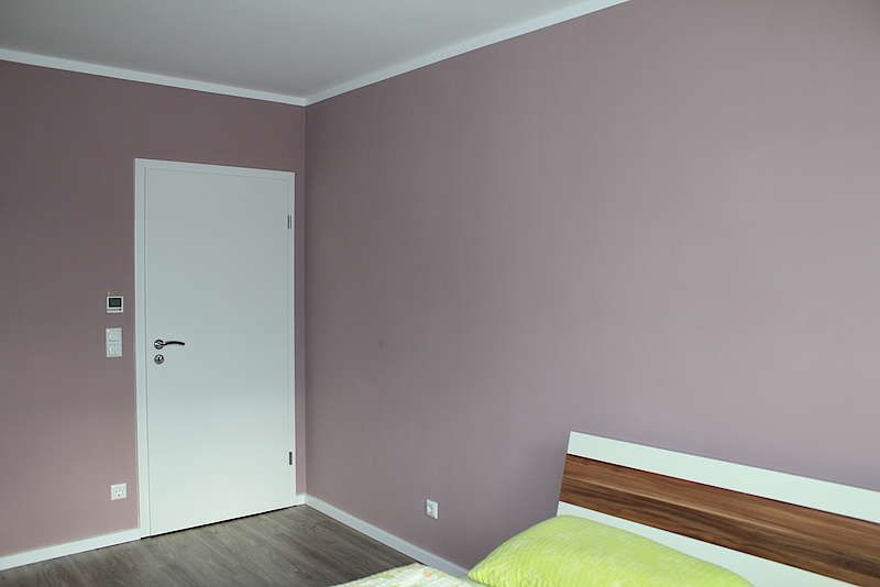Wandfarbe alpina feine farben melode der anmut schlafzimmer
