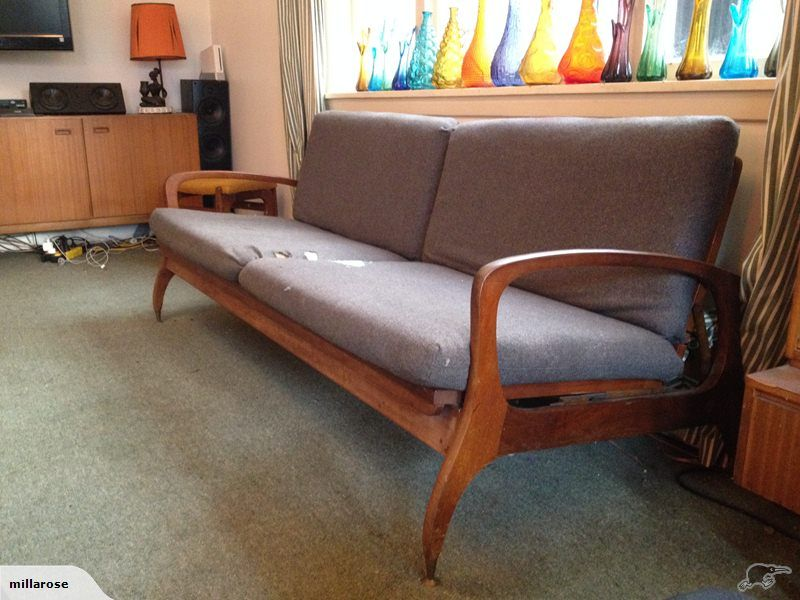 Great Retro Don Sofa/ Bed Settee   Trade Me   Furniture Options   Pinterest    Bed Settee, Retro Furniture And Art Deco