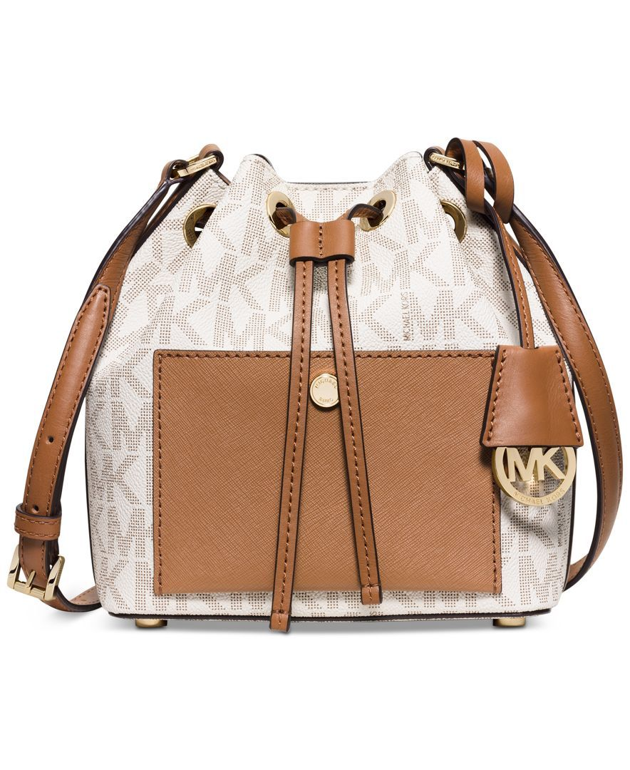 MICHAEL Michael Kors Greenwich Small Bucket Bag. Want!!!  3cb36b3ec656f