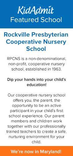 Our #SchoolOfTheDay: Rockville Presbyterian Cooperative Nursery School