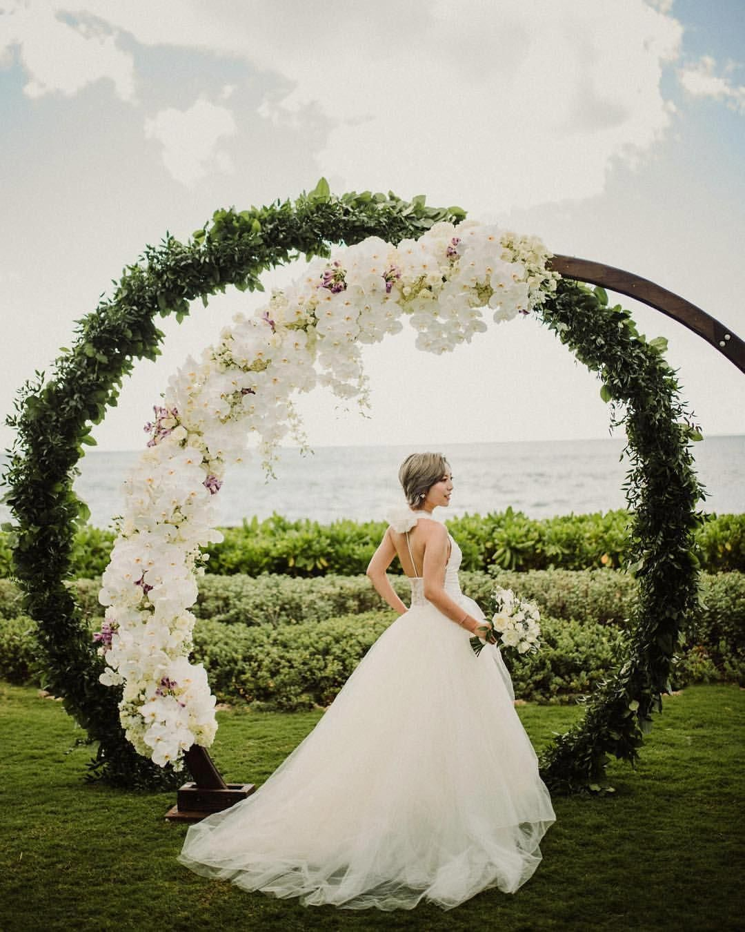 "Wedding Altar Songs: Christie Pham στο Instagram: ""A Gorgeous Ceremony Arch For"