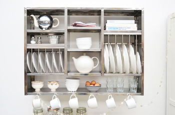 Mighty Stainless Steel Plate Rack #plateracks