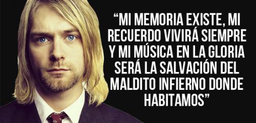 Las Frases Más Celebres De Kurt Cobain Frases De Canciones