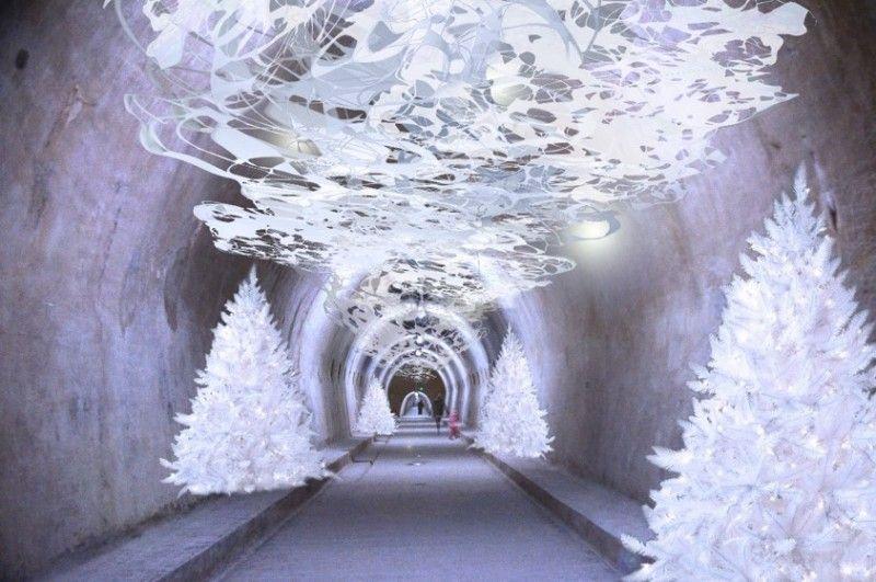 Gric Tunnel Photo Credit Zagreb Tourist Board Christmas Market Zagreb Christmas Markets Europe