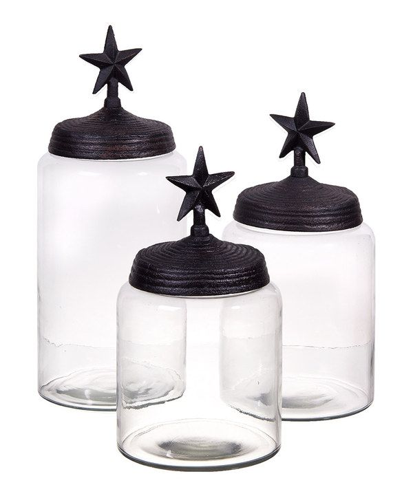 Take A Look At This Texas Star Canister Set On Zulily Today!