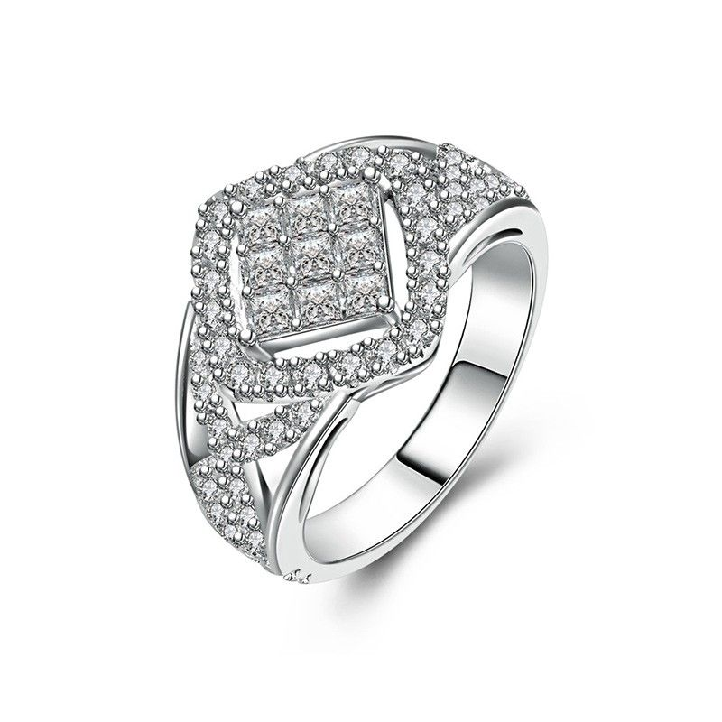 Sterling Silver Wedding Rings With Micro Cubic Zirconia Sterling Silver Wedding Rings Silver Wedding Rings Sterling Silver Wedding Band
