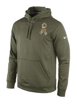 Nike Vikings Sideline Salute To Service Hooded Sweatshirt  58c4f1904