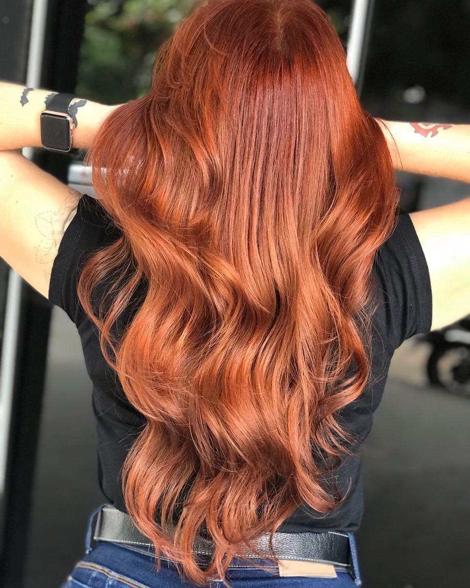 Nova Tinta Da Igora By Graciilemes Ruivo Acobreado Hair Igora Brasil Hair Cabelo Long Hair Styles Hair Styles Hair
