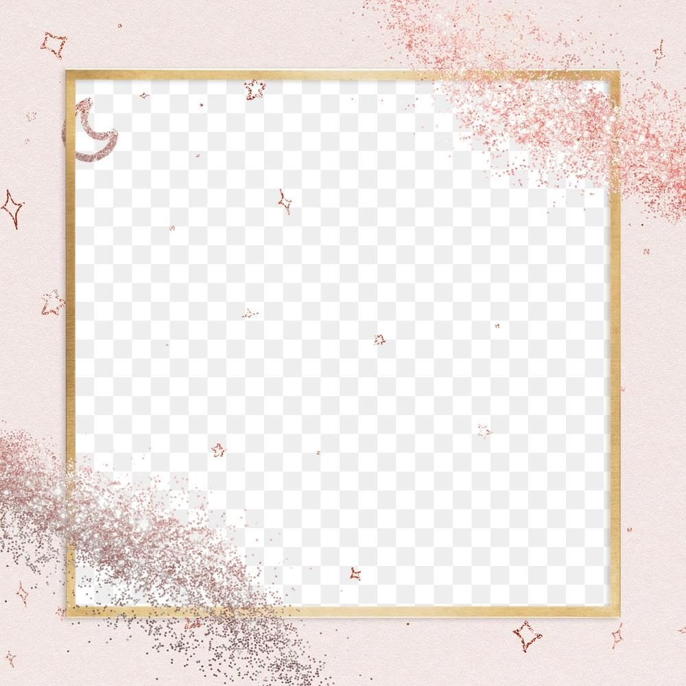 Shimmery Border Png Festive Pink Glitter Frame Free Image By Rawpixel Com Ployploy Glitter Frame Pink Glitter Frame