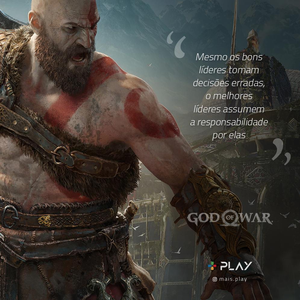 Frases Interessantes Entre Kratos E Atreus Do Game God Of