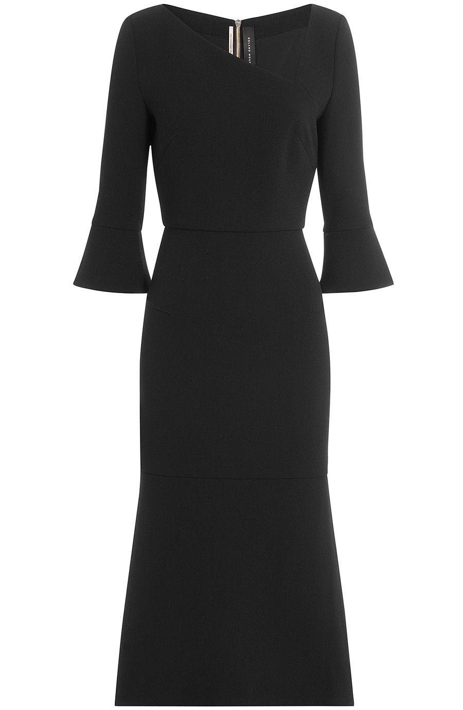 ROLAND MOURET Wool Dress. #rolandmouret #cloth #cocktail & party