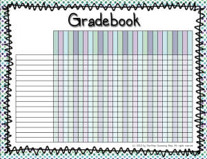 Free Printable Gradebook For Teachers